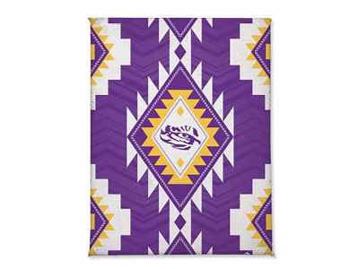 LSU Tigers Tribal Magnet