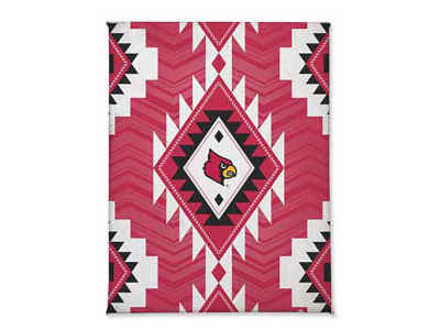Louisville Cardinals Tribal Magnet