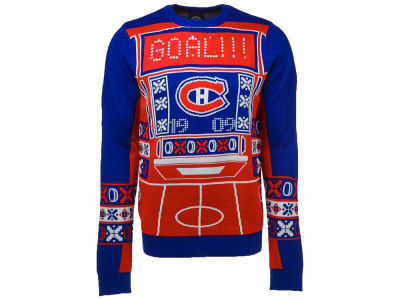 Montreal Canadiens NHL Men's Light Up Ugly Sweater
