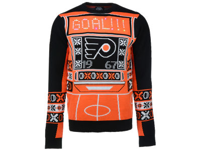 Philadelphia Flyers NHL Men's Light Up Ugly Sweater