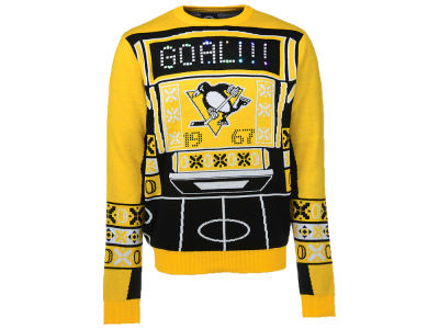 Pittsburgh Penguins NHL Men's Light Up Ugly Sweater