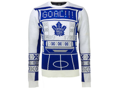 Toronto Maple Leafs NHL Men's Light Up Ugly Sweater