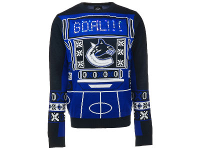 Vancouver Canucks NHL Men's Light Up Ugly Sweater