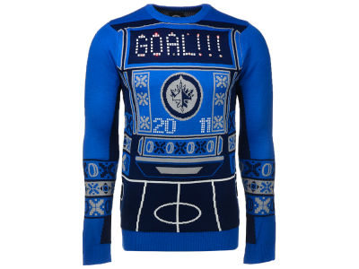 Winnipeg Jets NHL Men's Light Up Ugly Sweater