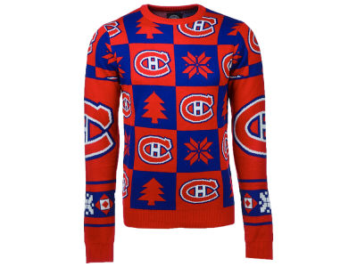 Montreal Canadiens NHL Men's Patches 2.0 Ugly Sweater