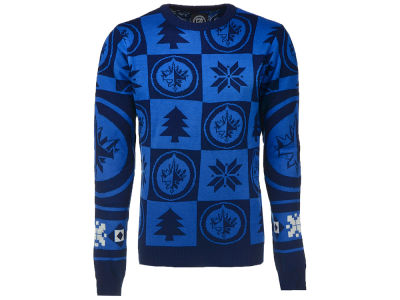 Winnipeg Jets NHL Men's Patches 2.0 Ugly Sweater