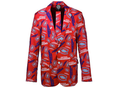 Montreal Canadiens NHL Men's Team Jacket & Tie