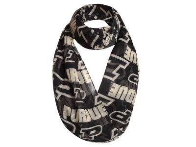 Purdue Boilermakers All Over Logo Infinity Wrap Scarf