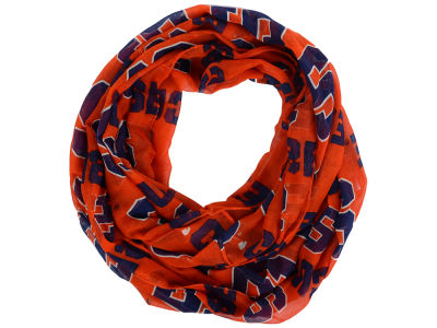 Syracuse Orange All Over Logo Infinity Wrap Scarf
