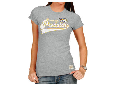 Nashville Predators NHL Womens Script Crew T-Shirt