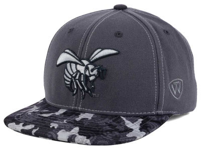 Alabama State Hornets Top of the World NCAA Luete Snapback Cap