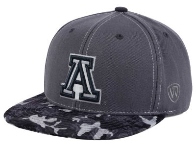Arizona Wildcats Top of the World NCAA Luete Snapback Cap