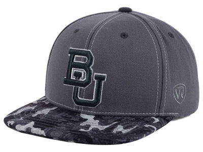 Baylor Bears Top of the World NCAA Luete Snapback Cap