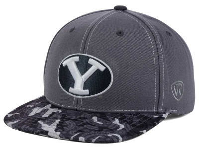 Brigham Young Cougars Top of the World NCAA Luete Snapback Cap