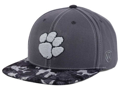 Clemson Tigers Top of the World NCAA Luete Snapback Cap