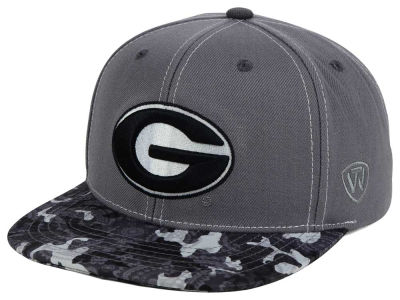 Georgia Bulldogs Top of the World NCAA Luete Snapback Cap