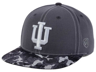 Indiana Hoosiers Top of the World NCAA Luete Snapback Cap