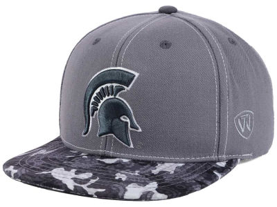 Michigan State Spartans Top of the World NCAA Luete Snapback Cap