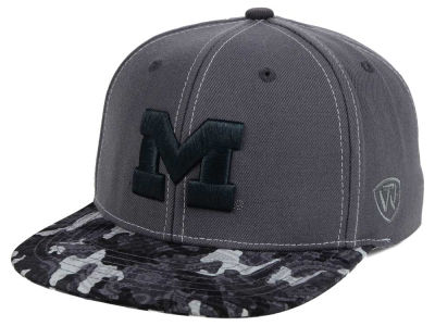 Michigan Wolverines Top of the World NCAA Luete Snapback Cap
