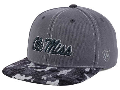 Ole Miss Rebels Top of the World NCAA Luete Snapback Cap