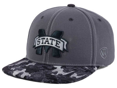 Mississippi State Bulldogs Top of the World NCAA Luete Snapback Cap