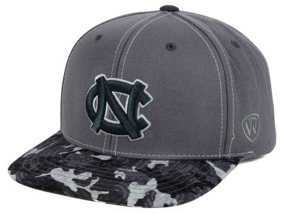 North Carolina Tar Heels Top of the World NCAA Luete Snapback Cap