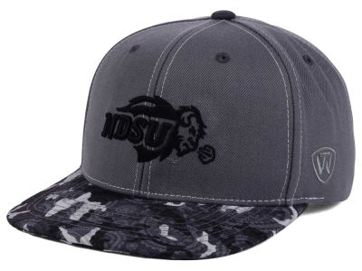 North Dakota State Bison Top of the World NCAA Luete Snapback Cap