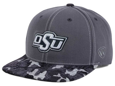 Oklahoma State Cowboys Top of the World NCAA Luete Snapback Cap