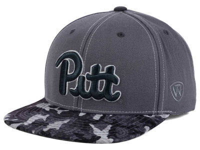 Pittsburgh Panthers Top of the World NCAA Luete Snapback Cap
