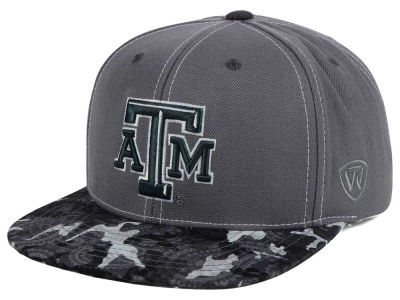Texas A&M Aggies Top of the World NCAA Luete Snapback Cap