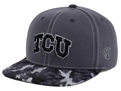 Texas Christian Horned Frogs Top of the World NCAA Luete Snapback Cap