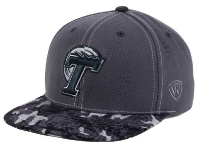 Tulane Green Wave Top of the World NCAA Luete Snapback Cap