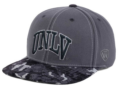 UNLV Runnin Rebels Top of the World NCAA Luete Snapback Cap
