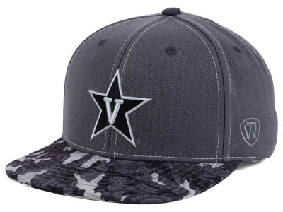 Vanderbilt Commodores Top of the World NCAA Luete Snapback Cap