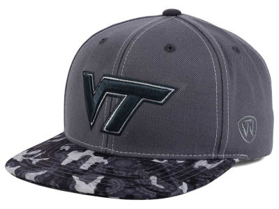 Virginia Tech Hokies Top of the World NCAA Luete Snapback Cap