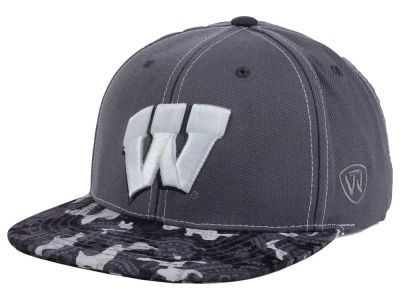 Wisconsin Badgers Top of the World NCAA Luete Snapback Cap