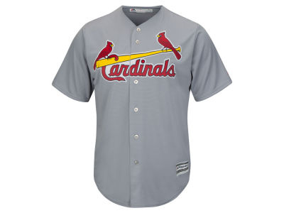 St. Louis Cardinals MLB Men's Blank Replica Cool Base 3X-4X Jersey