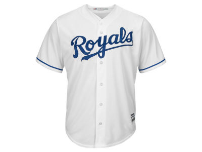 Kansas City Royals MLB Men's Blank Replica Cool Base 3X-4X Jersey