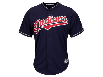 Cleveland Indians MLB Men's Blank Replica Cool Base 3X-4X Jersey