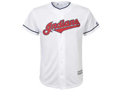 Cleveland Indians Majestic MLB Men's Blank Replica Cool Base 3X-4X Jersey