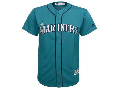 Seattle Mariners MLB Men's Blank Replica Cool Base 3X-4X Jersey