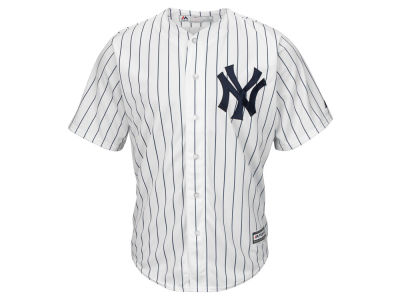 New York Yankees Majestic MLB Men's Blank Replica Cool Base 3X-4X Jersey