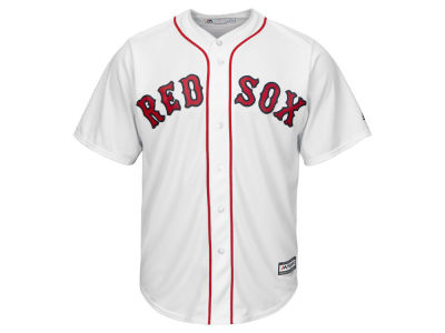 Boston Red Sox MLB Men's Blank Replica Cool Base 3X-4X Jersey