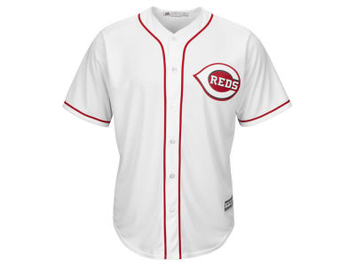 Cincinnati Reds Majestic MLB Men's Blank Replica Cool Base 3X-4X Jersey