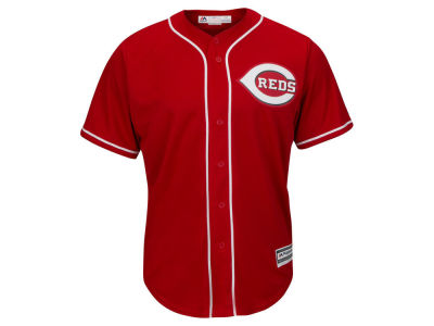 Cincinnati Reds MLB Men's Blank Replica Cool Base 3X-4X Jersey
