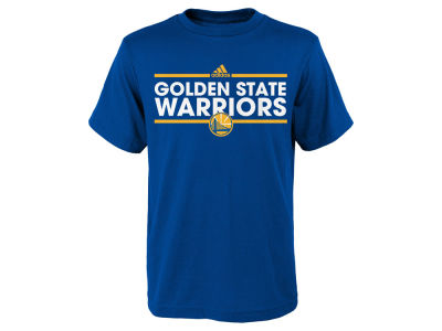 Golden State Warriors adidas NBA Youth Dassler Cotton T-Shirt