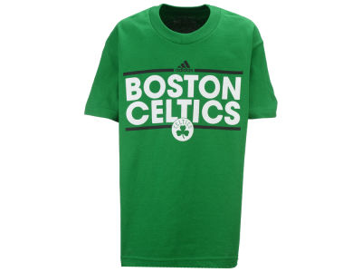 Boston Celtics adidas NBA Youth Dassler Cotton T-Shirt