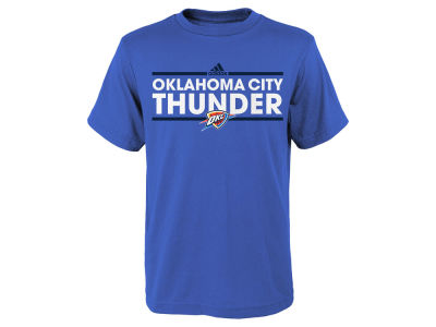 Oklahoma City Thunder adidas NBA Youth Dassler Cotton T-Shirt