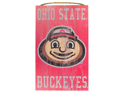 Ohio State Buckeyes 11x19 Heritage Distressed Logo Sign