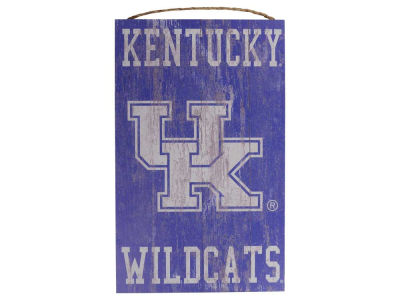 Kentucky Wildcats 11x19 Heritage Distressed Logo Sign